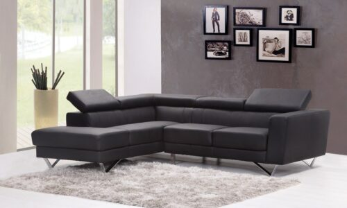 artificial leather sofa