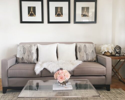 small spaces living room